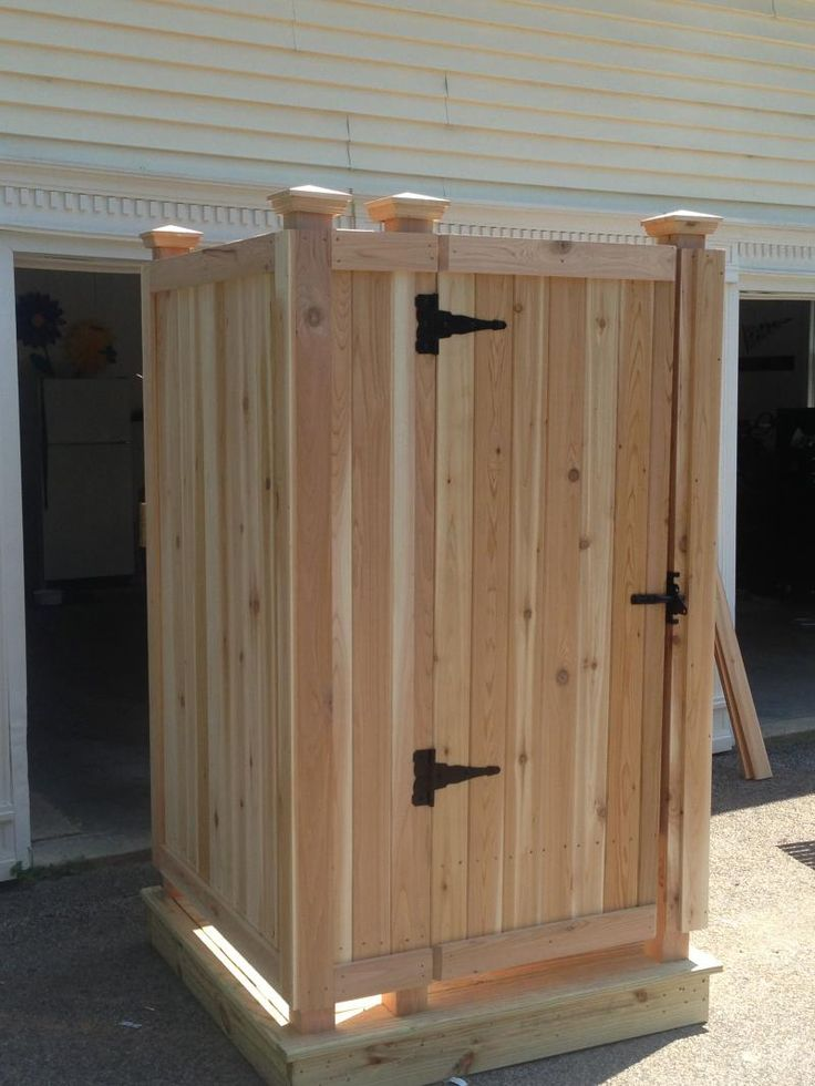 Cape Cod Outdoor Shower Company - Modular Outdoor Shower EnclosureS: Prebuilt, Delivered to your home & Ready for use