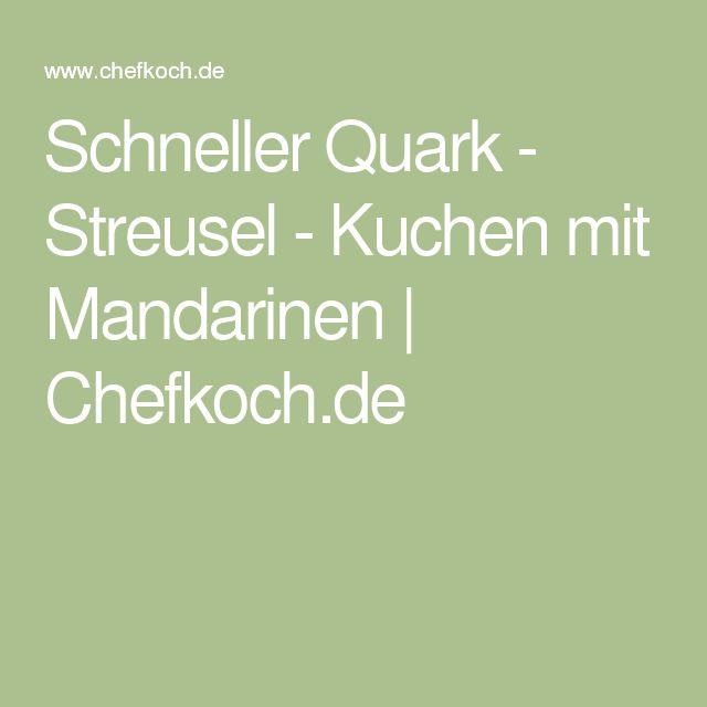 Mandarinen quark streusel kuchen
