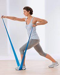 Training mit dem Fitnessband