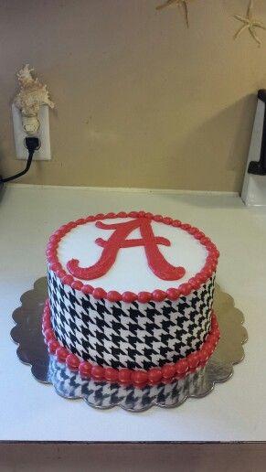 278 best Alabama Crimson Tide Cakes images on Pinterest Alabama