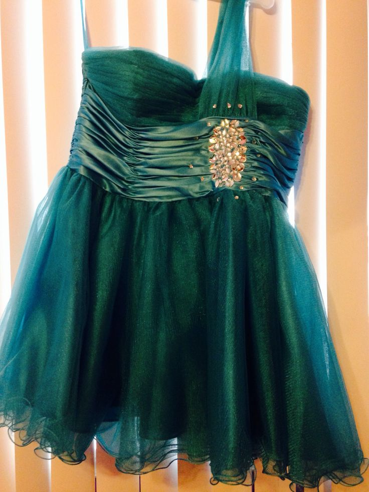 This was my grade 7 prom dress!