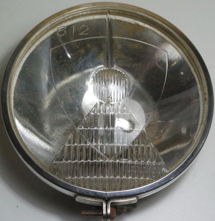 SEV MARCHAL 612  Car Spot Fog Lamp - Vintage SEV MARCHAL Fog Lamp France