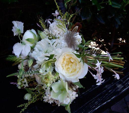 Wedding Flowers By Annette: 442 Best Bruidsbloemen Wit & Groen Images On Pinterest