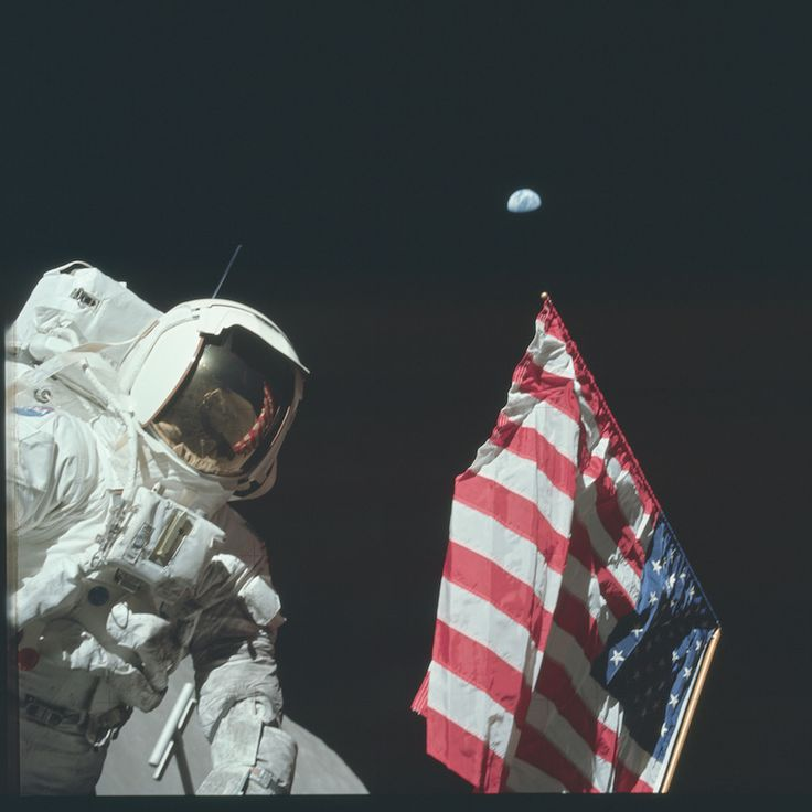 NASA Releases Totally Real Definitely Not Faked High-Res Moon Landing Pics