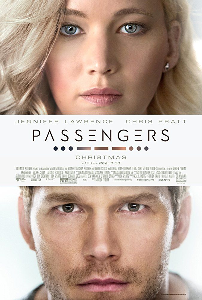 Been enjoying the Amazon Prime movies... watched this one while doing the morning workouts. Passengers with Chris Pratt and Jennifer Lawrenc...