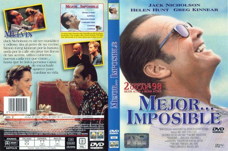 Mejor... imposible [Enregistrament de vídeo]. Madrid: Columbia Tristar Home Video, cop. 1998. https://cataleg.ub.edu/record=b1893831~S1*cat