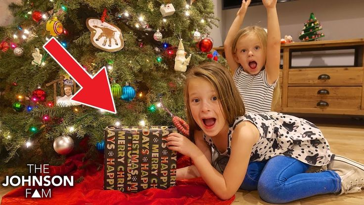 KIDS FIND SECRET and EXPENSIVE GIFT! 🎁 Happy New Years! - YouTube