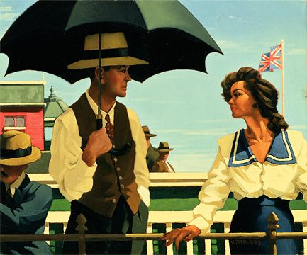 'Summertime Blues', part of The Summers Remembered Collection ~ Jack Vettriano  (Scottish 1951)
