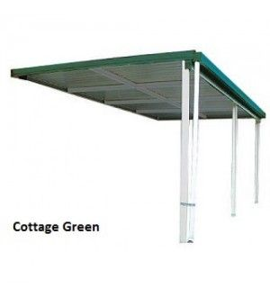 AWNING 6mWx3mDx3mH W50 COLORBOND