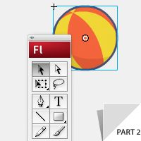 Illustrate and Animate a Bouncing Ball: Part 2 - Adobe Illustrator + Flash