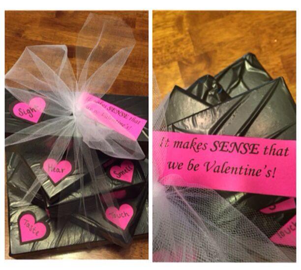 Valentine 5 Senses gift!
