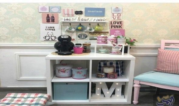أفكار ديكورية مبتكرة لخلق أجواء وطقوس مميزة لركن القهوة في البيت العصري Home Decor Decor Furniture