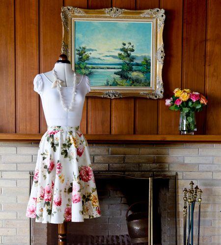 DIY Circle Skirt Tutorial - LifeStyle HOME