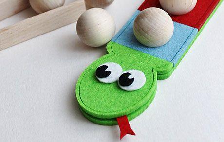 Felt toys / Zabawki z filcu