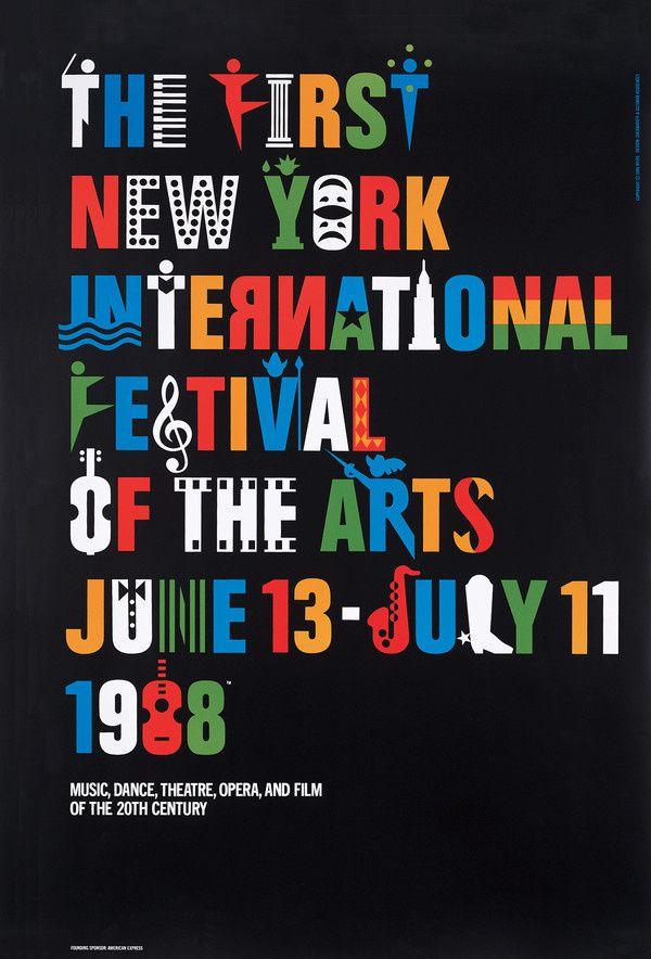 Ivan Chermayeff, NY Film Festival in Posters