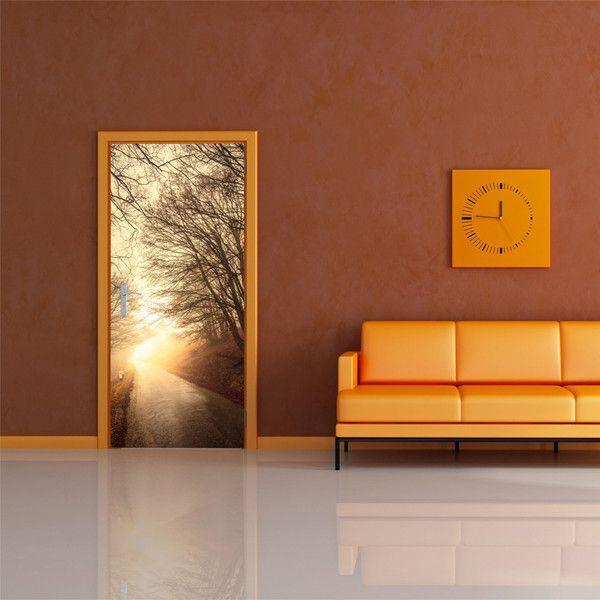 Tapeta na drzwi 100x210 natura 101003-2 - artgeist - Dekoracje #art #nature #drzewo #tree #wallpaper