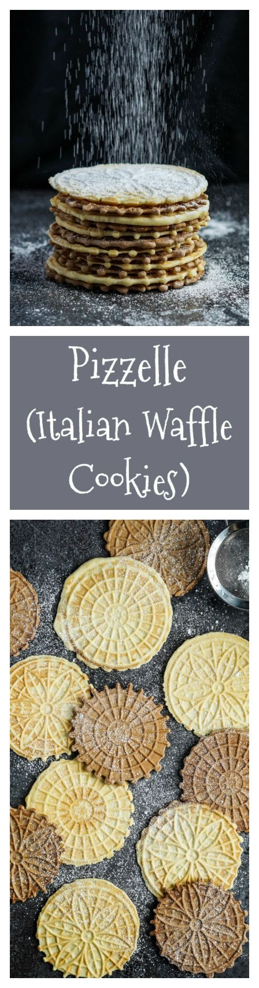 Today I am sharing a recipe for Pizzelles, Italian Waffle Cookies, and giving away a PizzellePro Toscano from Chef's Choice so you can make your own! The Pizzelle is a popular Christmas cooki…
