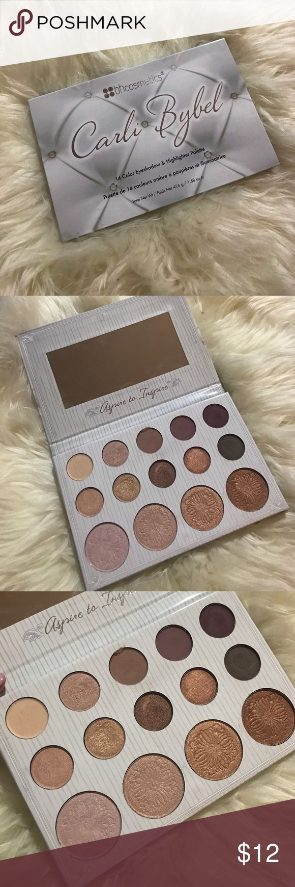 BH Cosmetics x Carli Bybel Palette Gorgeous palette. Has been swatched only. bh cosmetics Makeup Eyeshadow