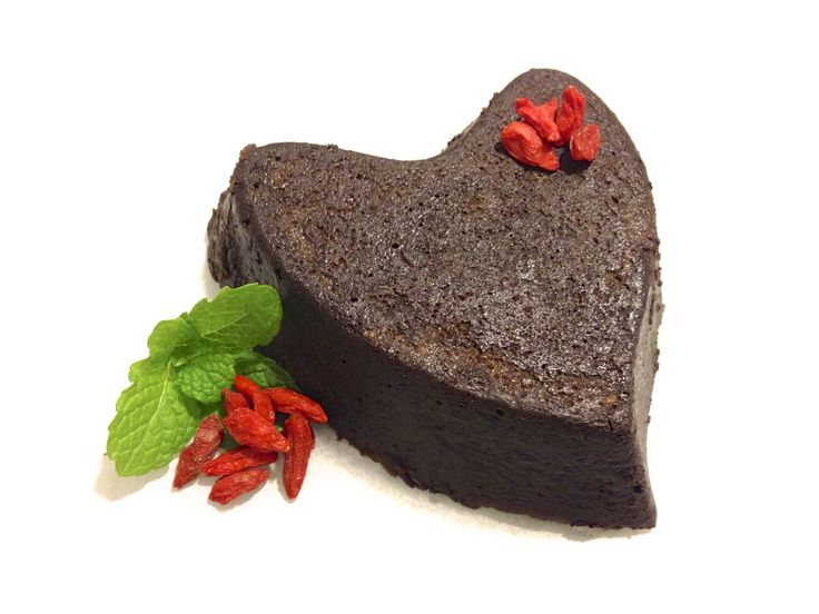 Valentines Flourless Chocolate Torte 4 oz homemade dark chocolate ...