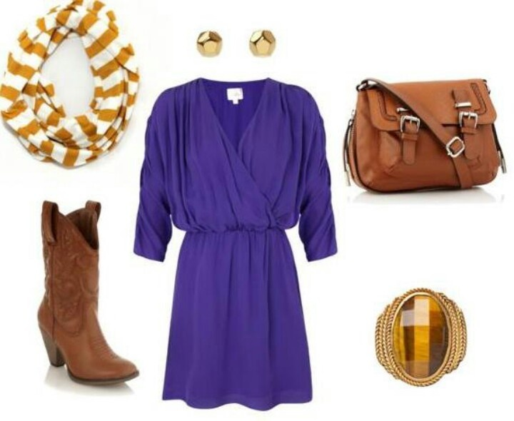 LSU outfit created by Mon Saucier