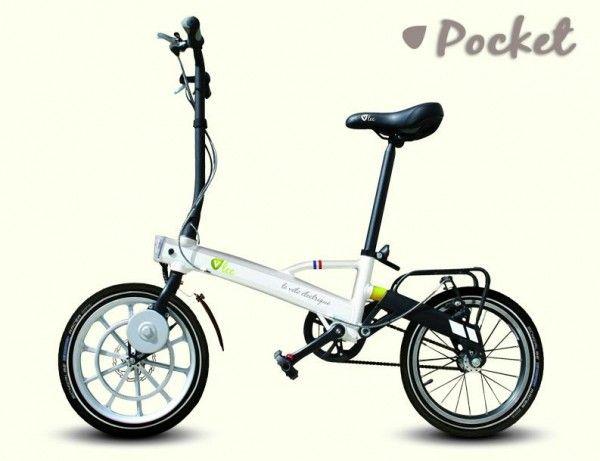 V'lec : un vélo électrique pliable de 9 kg conçu par un Français #velo #electrique #pliable