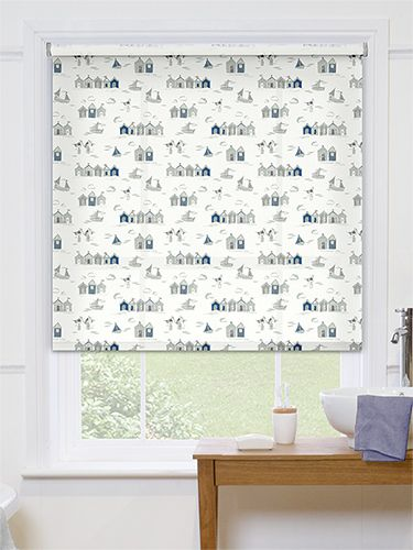 Cute And Practical This Lovely Coastal Roller Blind Will Add A Little Bit Of Personality