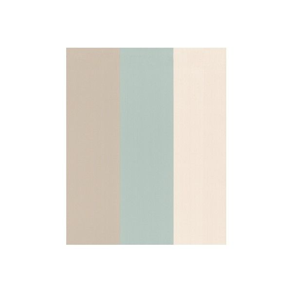 57223 Graham & Brown Figaro : Duck Egg Wallpaper Light Blue,Blue,Cream,Beige Stripe Wallpaper (£44) found on Polyvore
