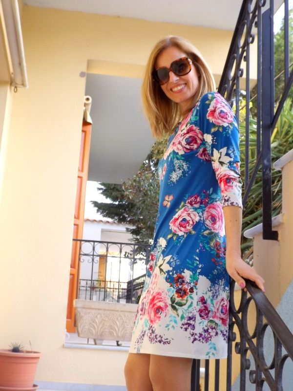 My new floral dress by Atmosphere london!