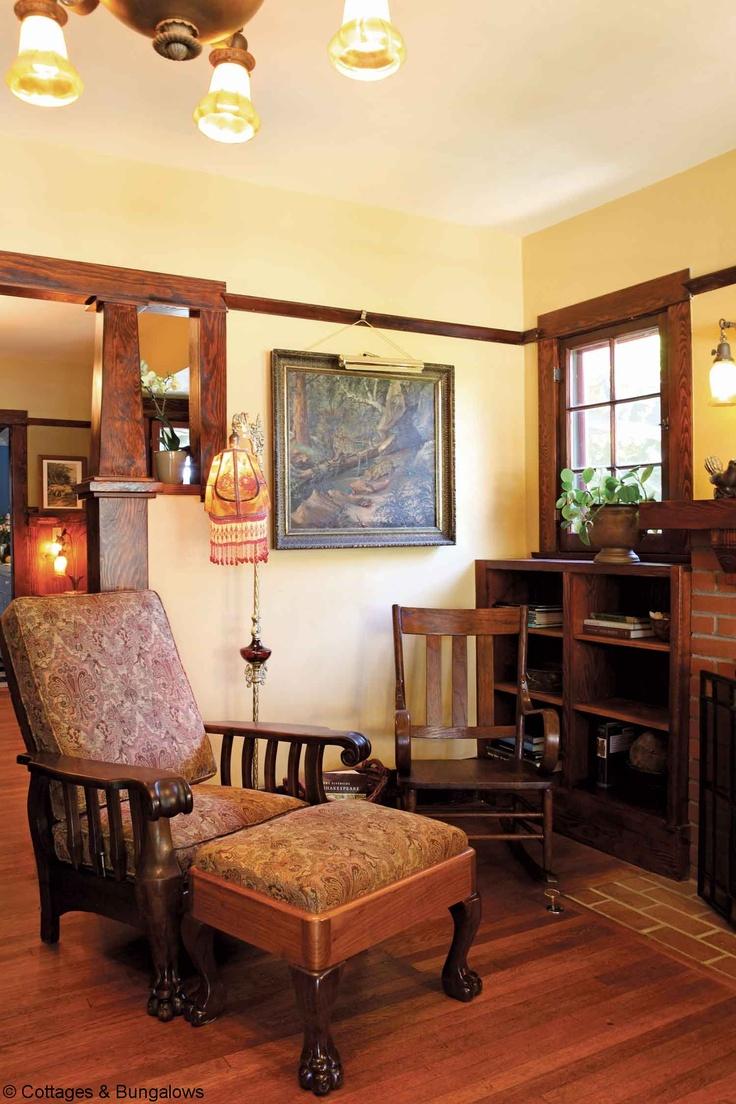 553 best craftsman style arts crafts homes images on pinterest for Craftsman living room furniture
