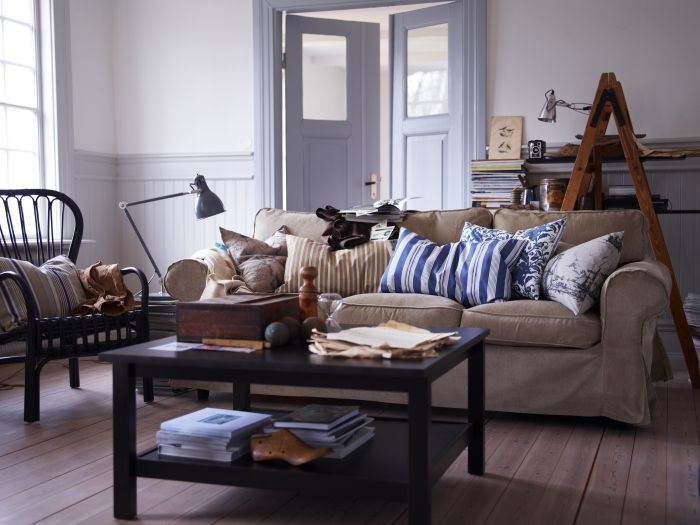 The EKTORP sofa, make it relaxed and casual! Quality seating with - ikea einrichtung ektorp