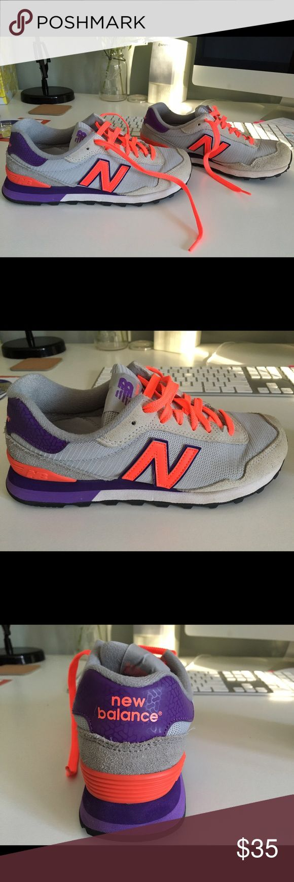 New Balance Tennis Shoes Perfect condition New Balance tennis shoes: Women's Size 7.5 - barely worn. Smoke free home. New Balance Shoes Athletic Shoes