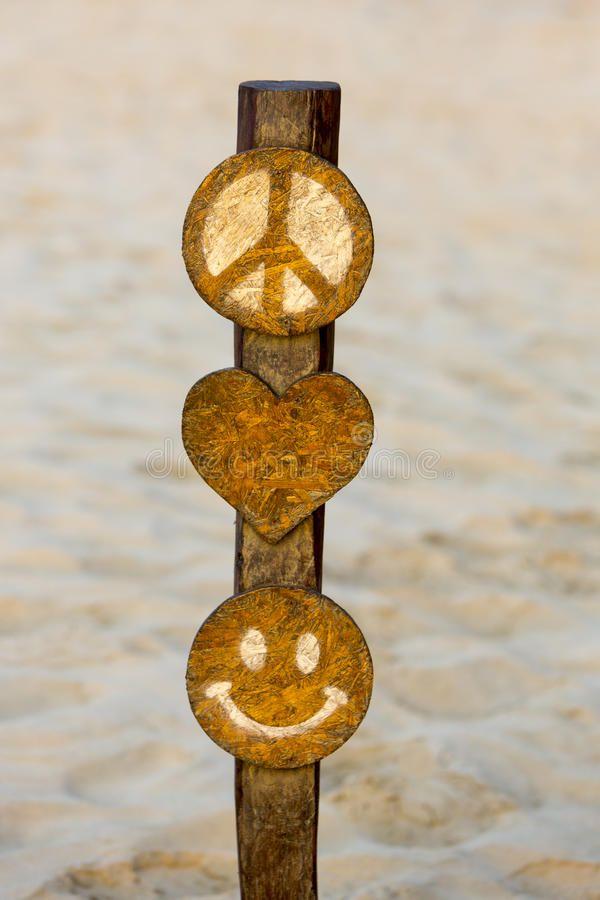 Peace Symbol Punta Sal