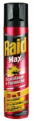 RAID SPRAY INSETTICIDA SCARAFAGGI FORMICHE ML. 400 http://www.decariashop.it/insetticidi-uso-civile/13895-raid-spray-insetticida-scarafaggi-formiche-ml-400.html