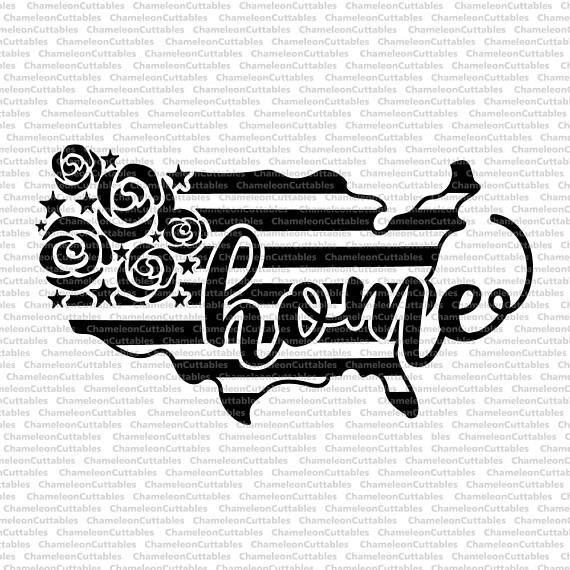 USA home, svg, 4th of July, America, Independence day, USA, day, shirt, flowers, floral, stripes, file, vector, decal, design