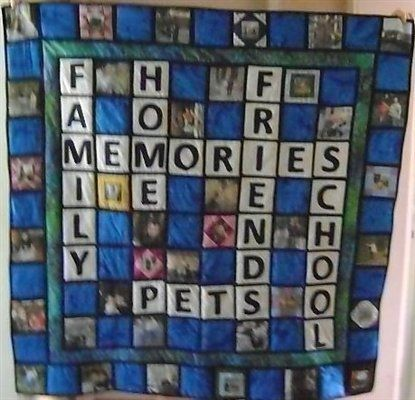 Photo Memory Quilt Ideas | Moms memory quilt - Quilters Club of America