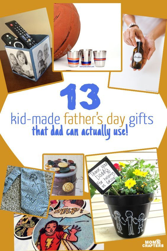 These kid-made Father's Day gifts are things that Dad will ...