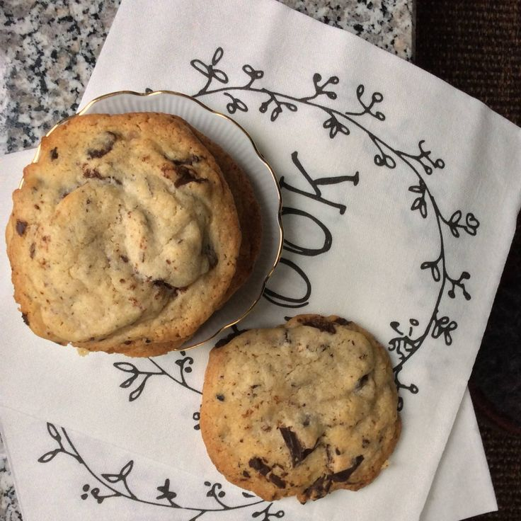Not kidding you: these chocolate chip cookies are the best! Find the recipe on tukskitchen.com