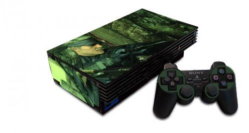 Metal Gear Solid Playstation 2 Skin #playstation #controllers #gaming #console