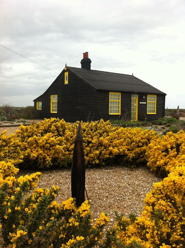 Derek Jarman's Prospect Cottage in Dungeness