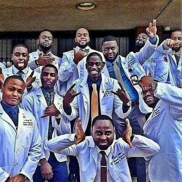 Howard College Of Medicine  Graduating Class 2014!!!   Nice Rep of Greeks!