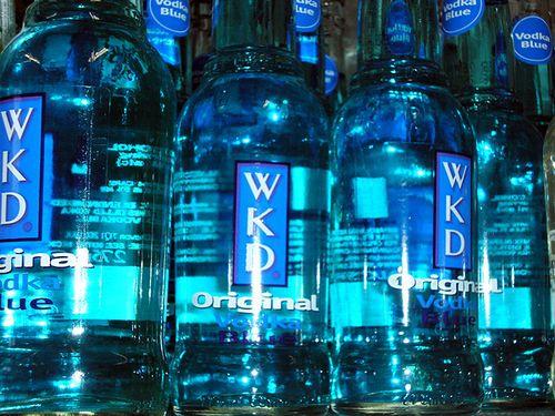 Blue WKD :P