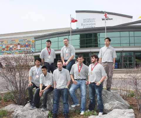 Centennial College's School of Transportation students bring home medals from the 25th annual Ontario Technological Skills Competition.