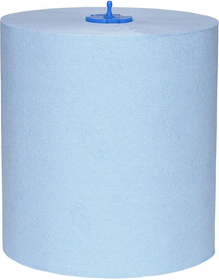 Prosoapele de maini Tork Matic rola albastra, ideale pentru grupurile sanitare aglomerate din aeroporturi si scoli.