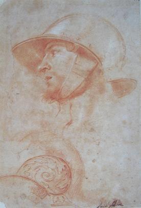 Aniello Falcone - Testa di guerriero