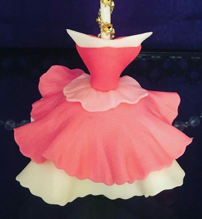 17 Terbaik ide tentang Princess Dress Cake di Pinterest | Pesta putri