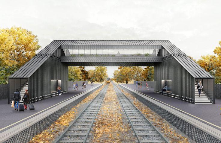 Railway Footbridge, UK - YNSTUDIO   Building design ...