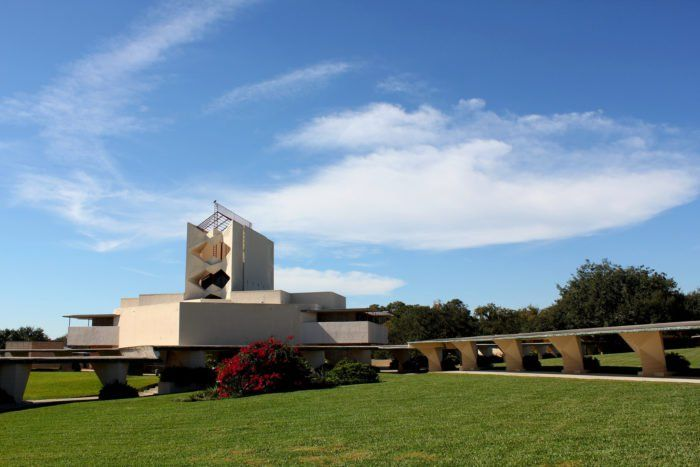 While you're in Lakeland, which is located in Polk County about halfway between Tampa and Orlando, you can also visit the largest collection of architect Frank Lloyd Wright's work at Florida Southern College, only a short drive from FPU.