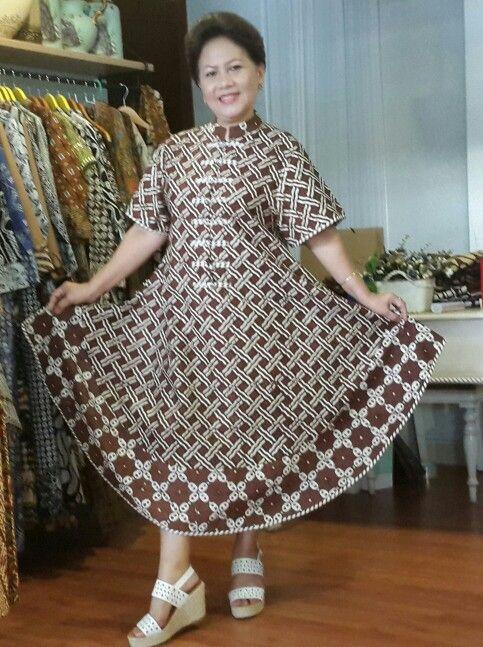 A long casual dress...by Sita batik
