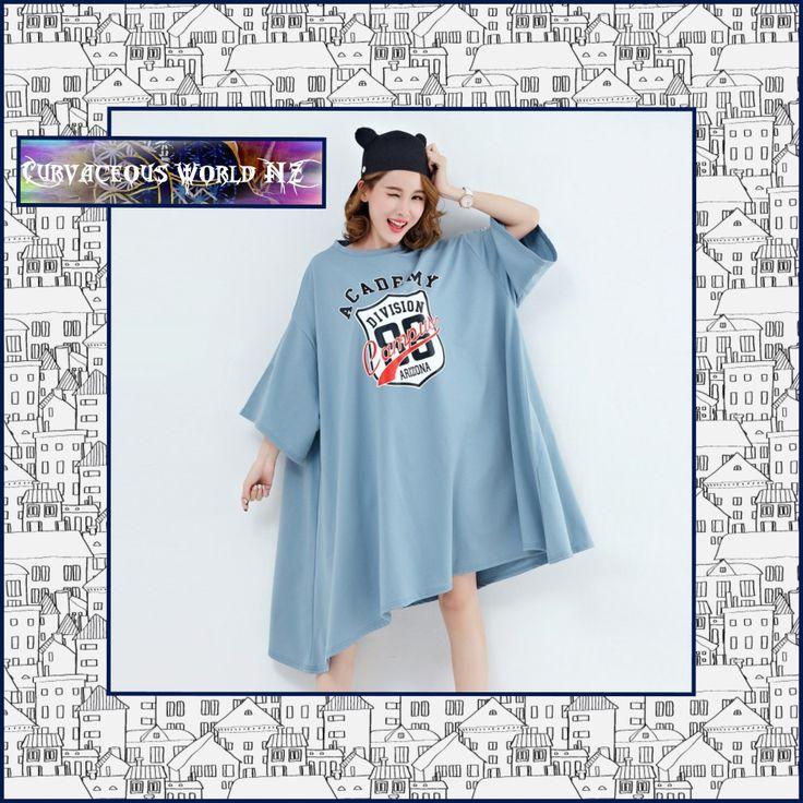 Plus size Women's Batwing Sleeve T-Shirt