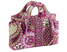 Abby bag in Very Berry Paisley